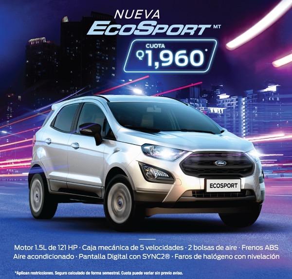 Nueva Ecosport MT 2018